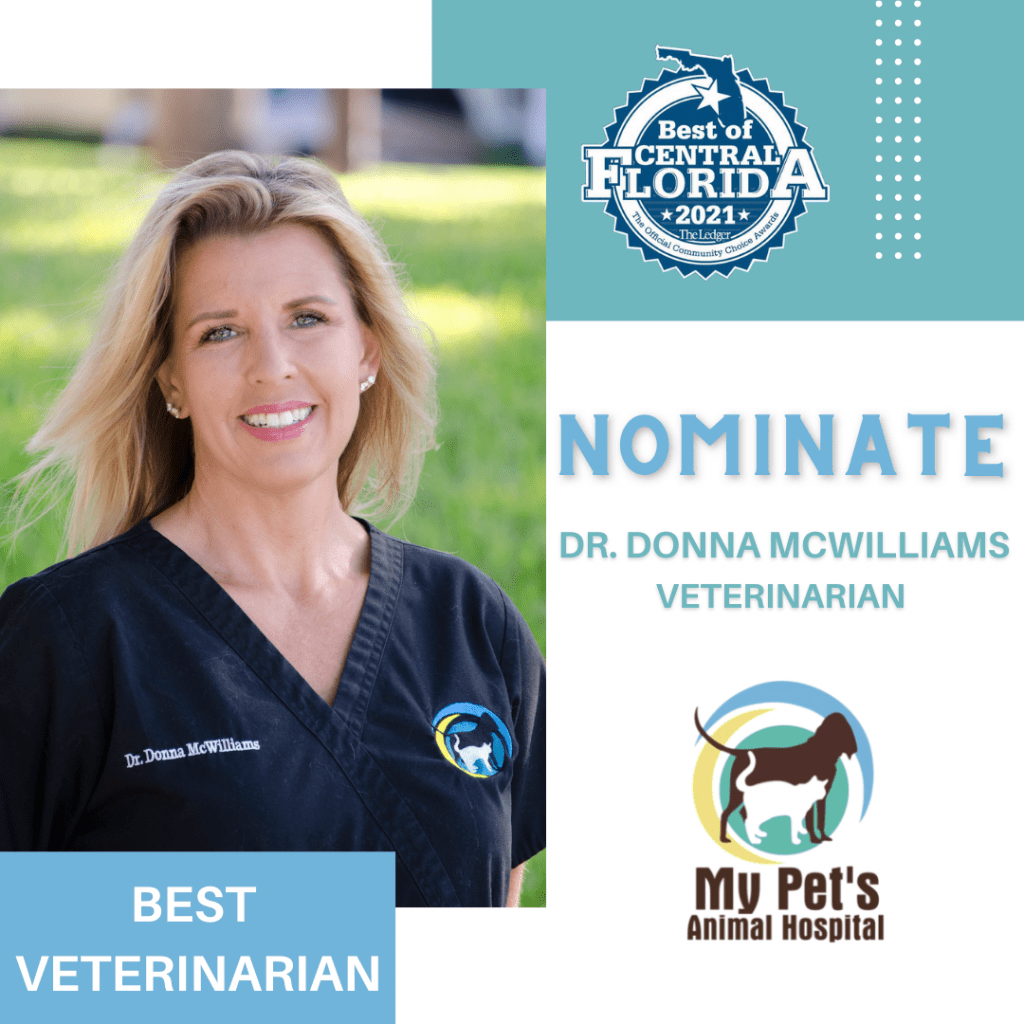 Nominate Dr. Donna McWilliams - Best Veterinarian in Central Florida